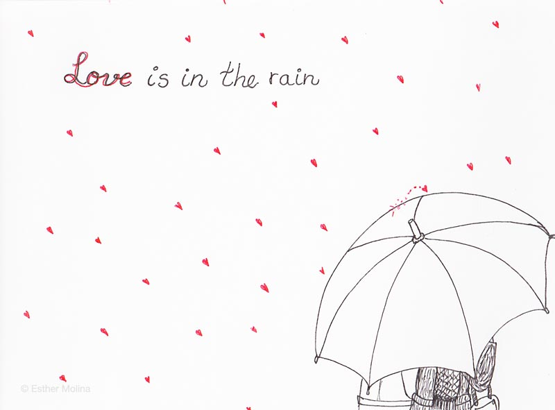 esther molina love is in the rain